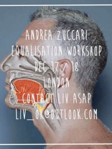 Andrea Zuccari Equalisation Workshop